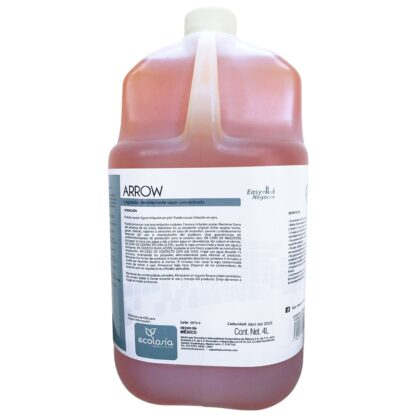 Botella de 4 litros ARROW limpiador desinfectante