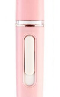 humidificador nano spray face mist color rosa